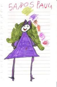 Paula 5 años