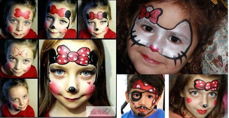 Maquillaje infantil - Pinturas de cara para ninos ...