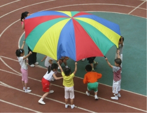 2m-78-Child-font-b-Kid-b-font-Sports-Development-Outdoor-Rainbow-Umbrella-font-b-Parachute