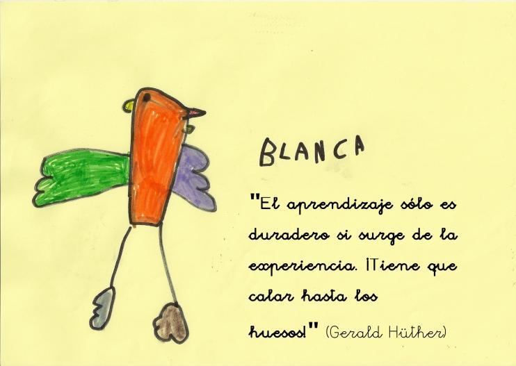 Blanca, 4 años