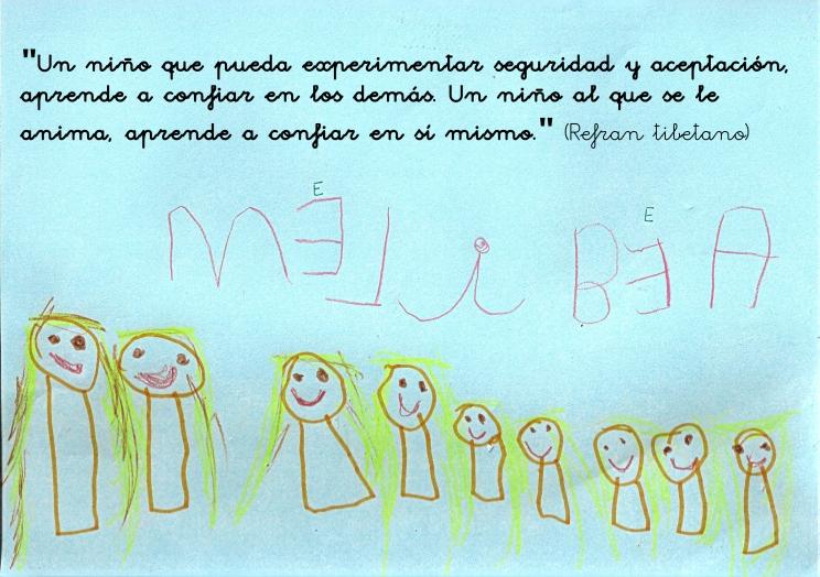 Melibea, 5 años